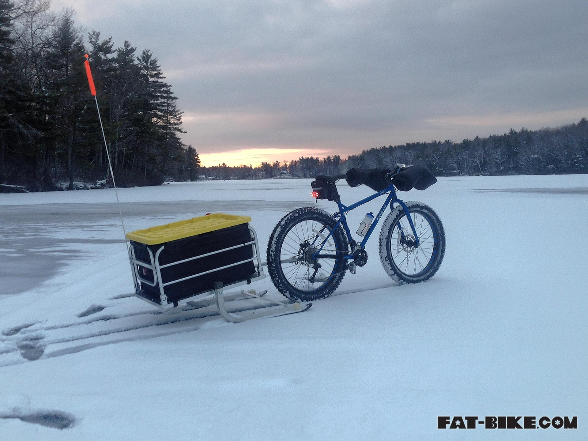 Fat tire bikes for ice fishing for Iowa fishing license cost