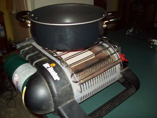 Cooking With Mr Buddy Heater