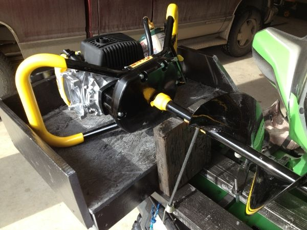 Auger Mount To Atv
