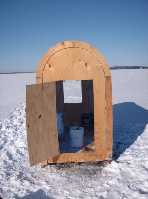 plans for portable ice hut