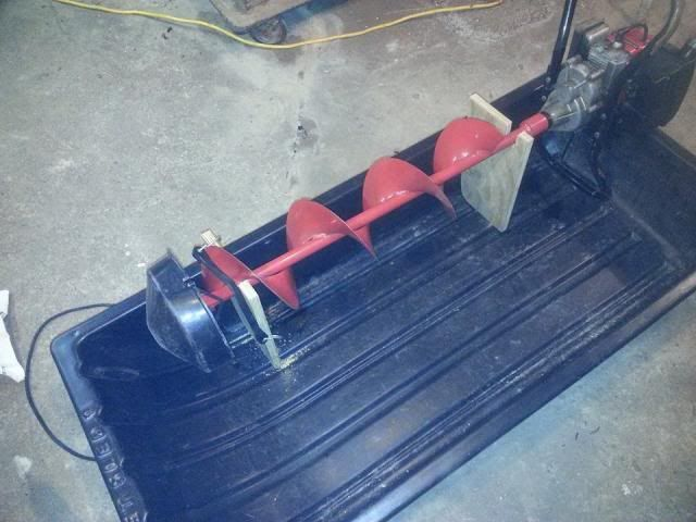 Jet sled mods for Ice fishing sled ideas