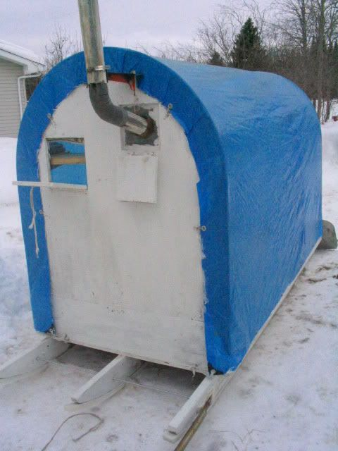 Wind Block Ideas For Patio: Ice Shanty Plans