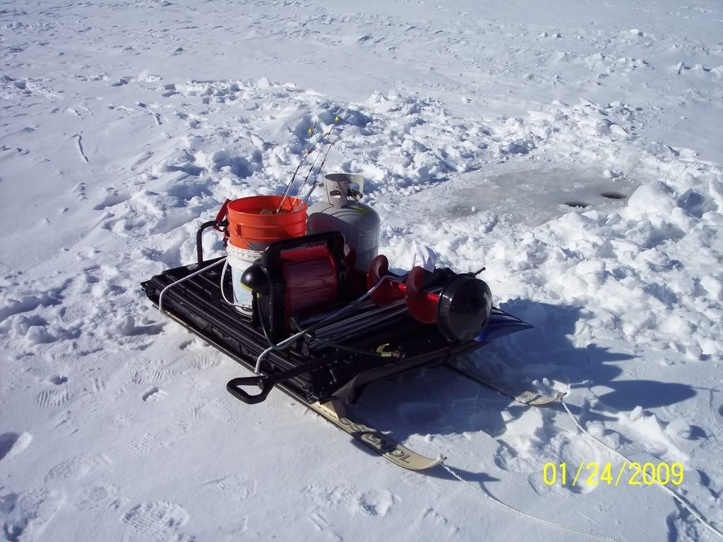 Let's see your ice fishing sleds!