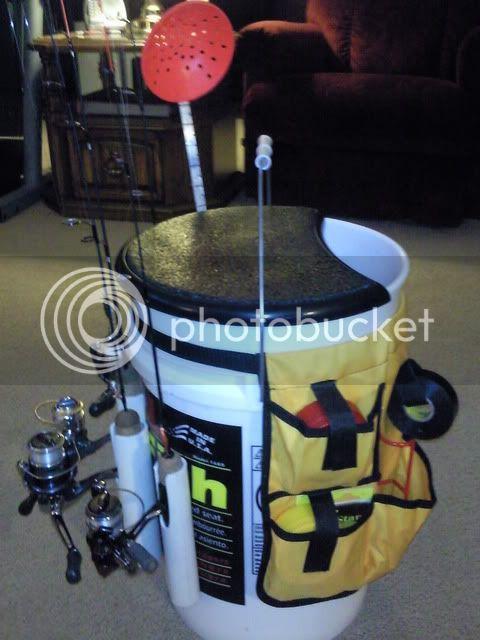 Custom bucket ideas for Fishing bucket seat
