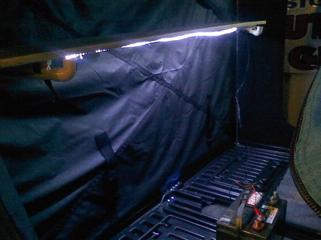 Clam 2000 for Ice fishing at night