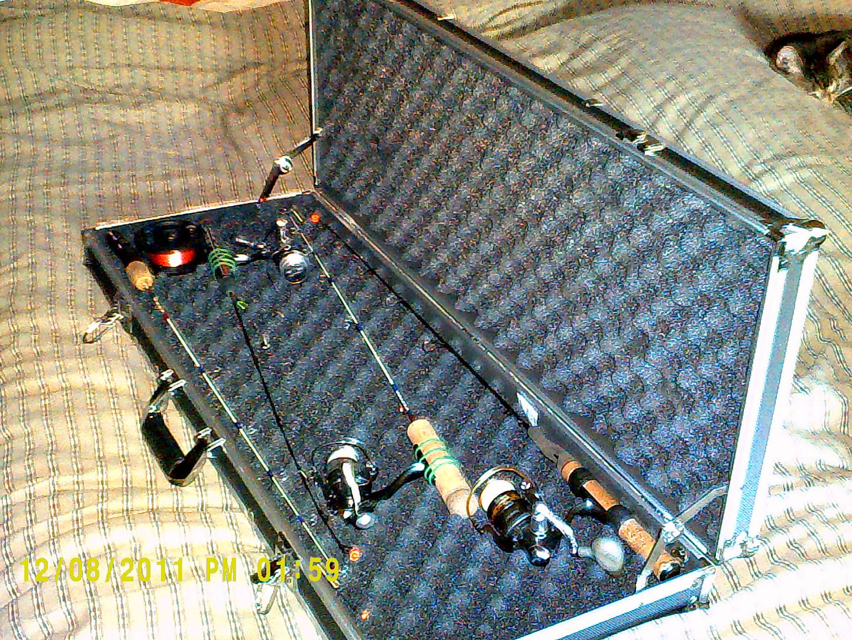 Not your average rod case for Ice fishing rod case