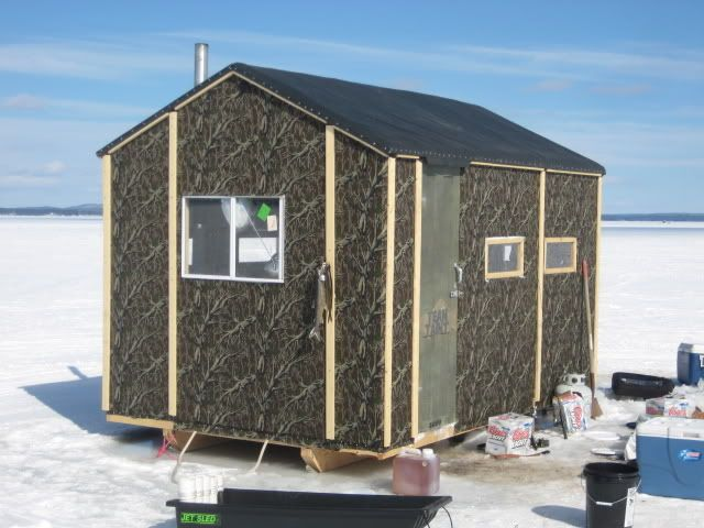 ice shack ideas