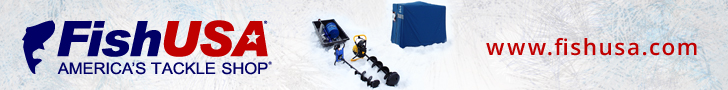 FishUSA Ice Fishing Gear